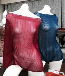 Bi-stretch lace by Desseilles